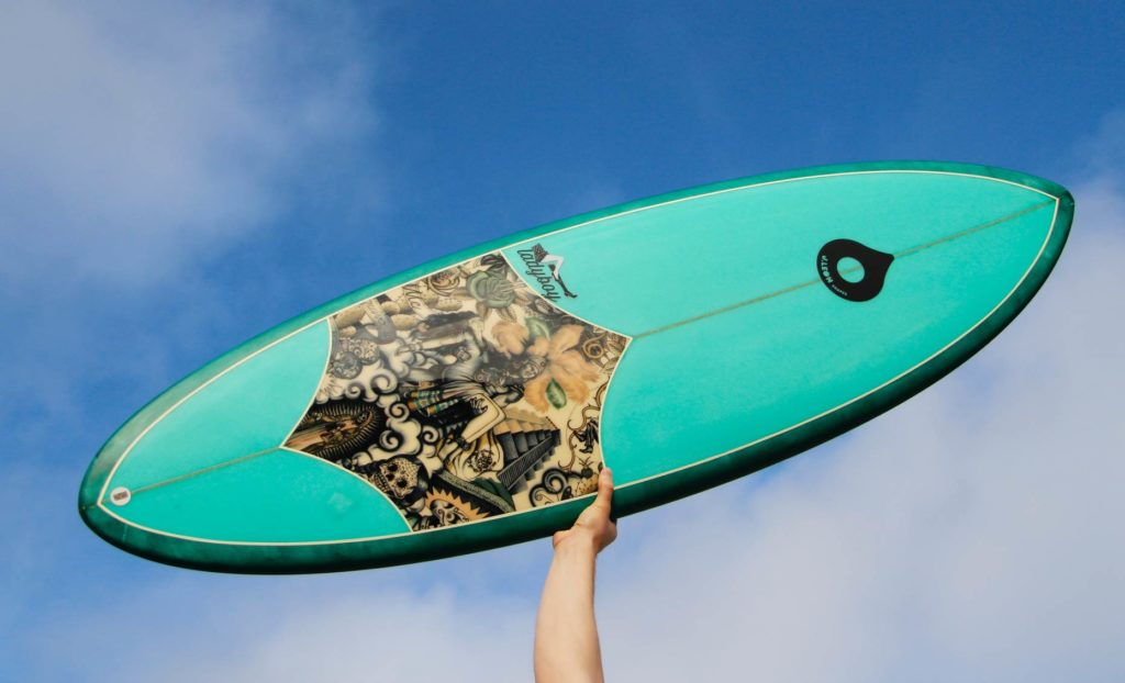 J.LeonShapes: tabla de surf terminada