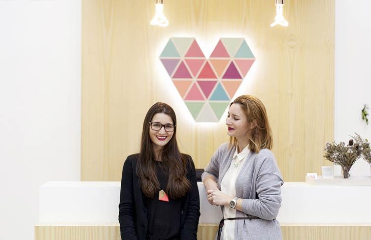Noelia e Isa Gil, fundadoras de Made with Lof