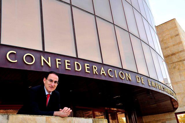 Presidente de la CEA, Javier González de Lara y Sarria