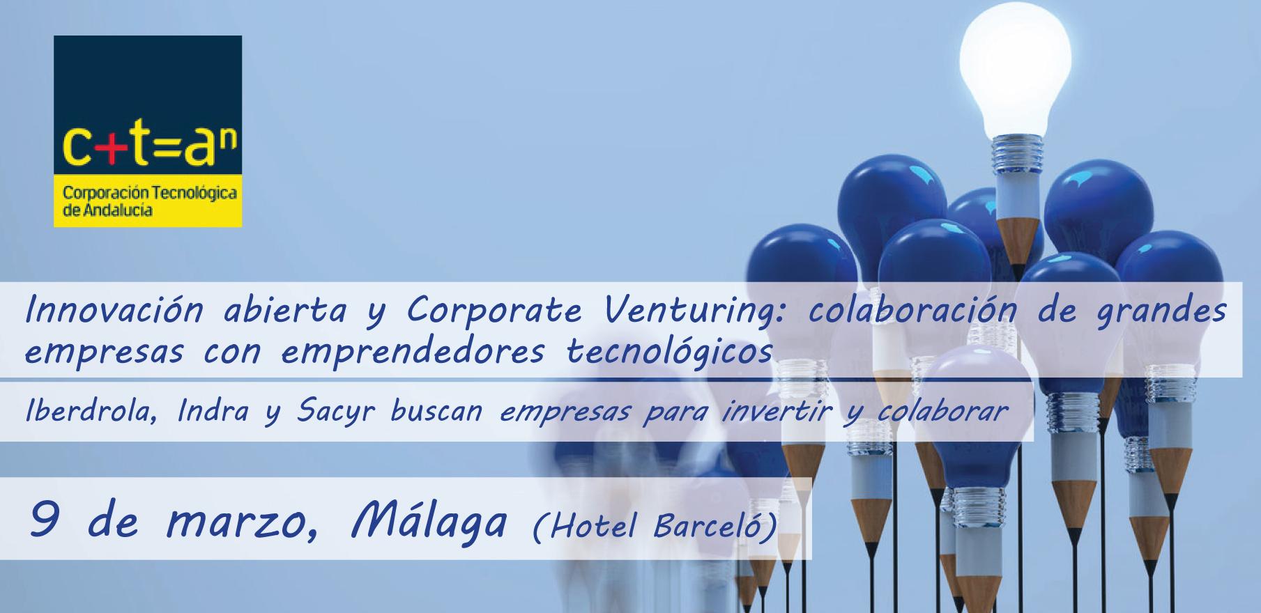 Encuentro Innovación abierta y Corporate Venturing organizado por la CTA