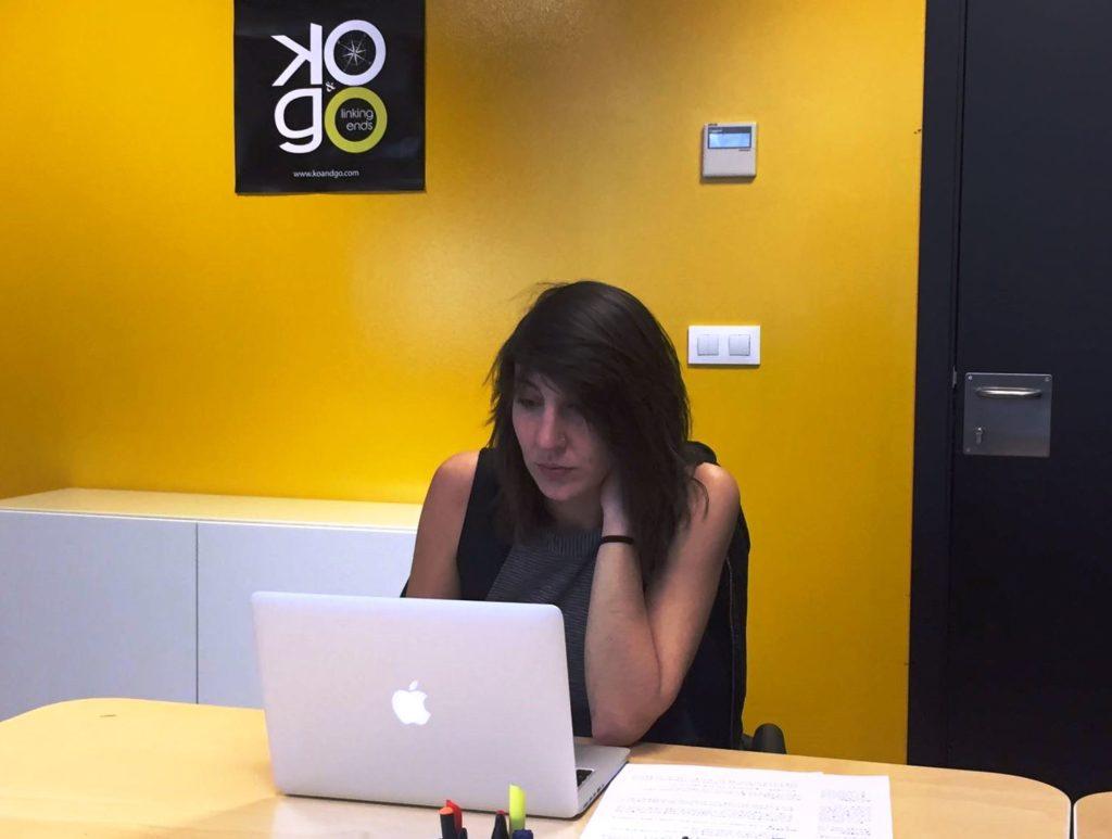 Rosa Molina, socia y coordinadora internacional de ventas de Ko&Go
