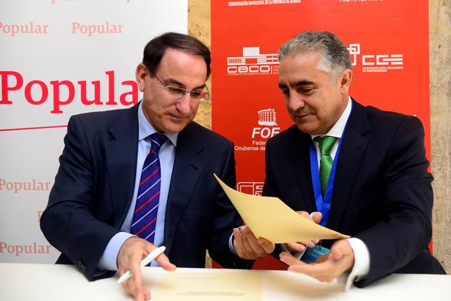 CEA y Banco Popular firman acuerdo de colaboración | CEA+EMPRESAS