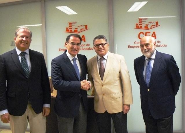 La CEA y Eticom, unidos por la transformación digital en Andalucía