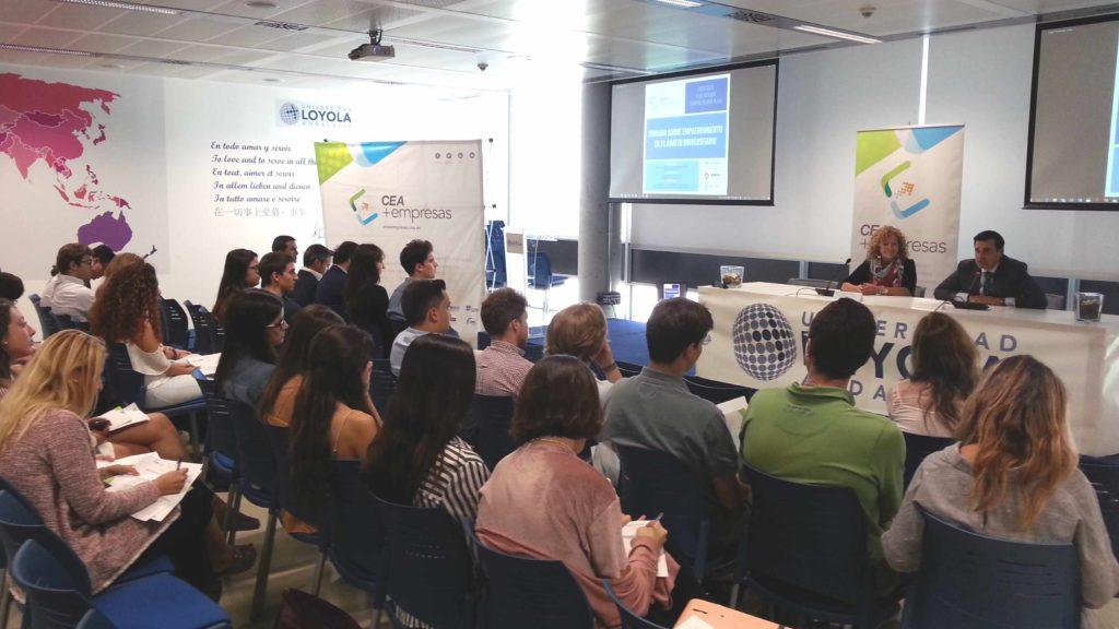 Jornada sobre emprendimiento universitario | CEA+EMPRESAS