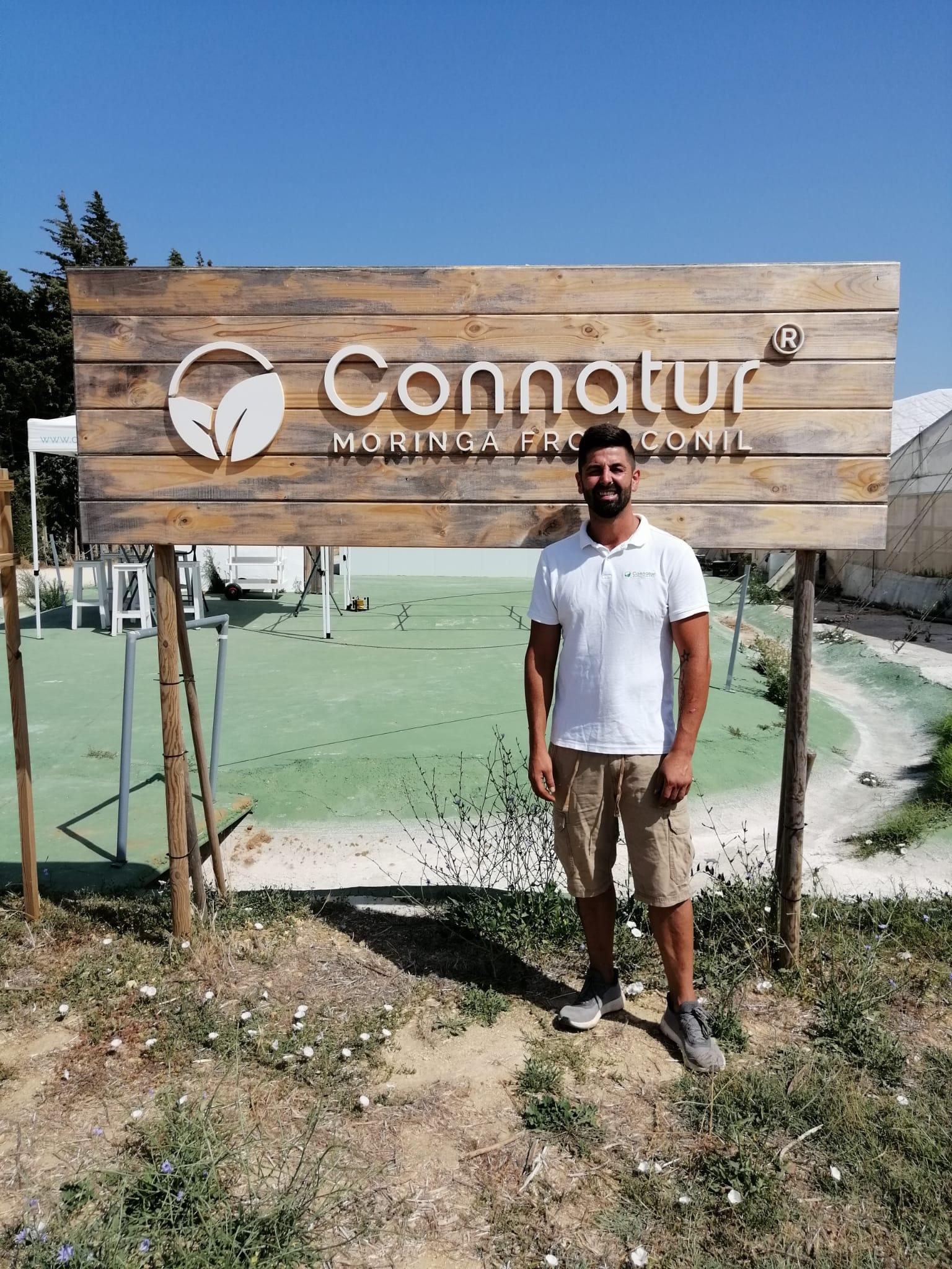 El empresario gaditano, en la finca Connatur (Conil)
